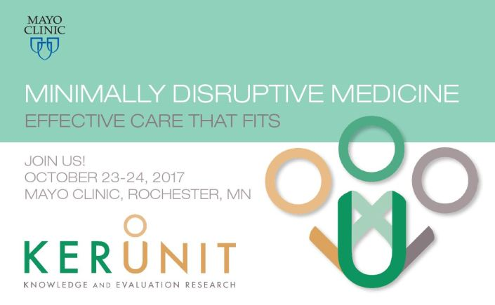 2017 Workshop – Rochester – Minimally Disruptive Medicine